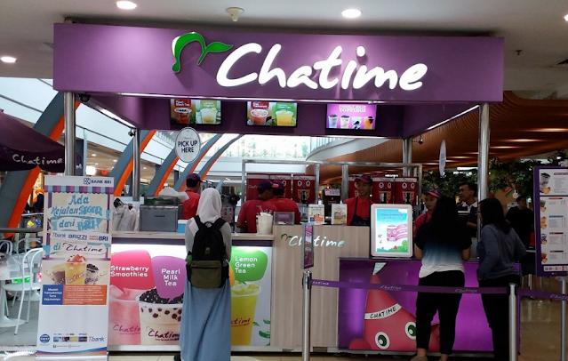 Lowongan Kerja Chatime Staff  PT Food Beverages Indonesia Tangerang