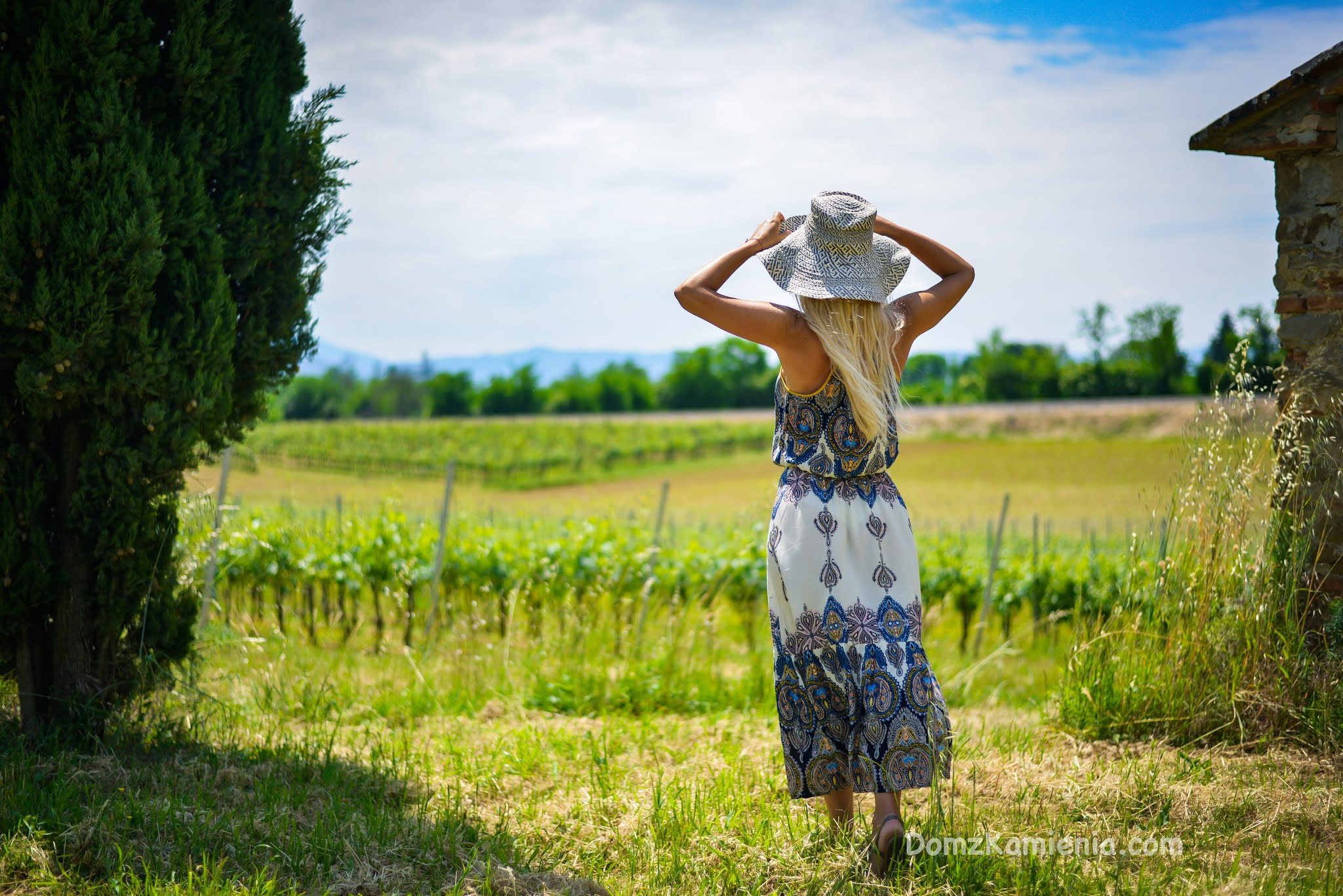 Dom z Kamienia, wakacje w Toskanii, blog