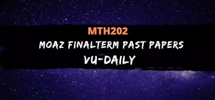 MTH202 MOAZ