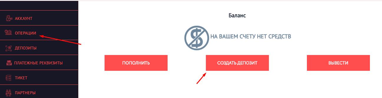 Регистрация в Litinex 5