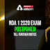 NDA 1 2020 Further Notice will be posted on 10 June  by UPSC