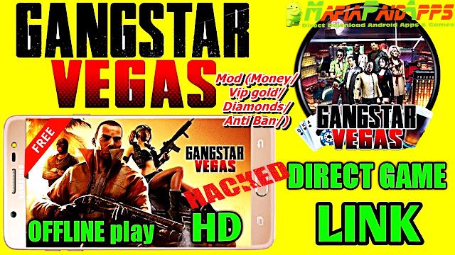 Gangstar Vegas – Mafia game Apk + Data + Mod (Money/Vip gold