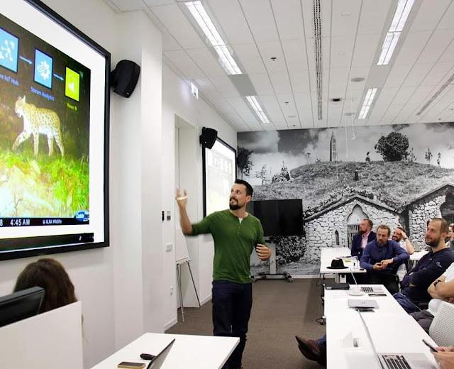 Hablando en público sobre conservación
