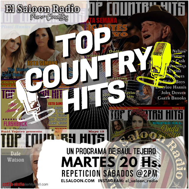 Top Country Hits - Martes 20 horas