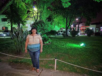 """Delia Arjona y """"La Noche""""."""