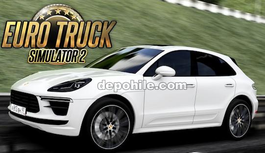 Euro Truck Simulator 2 1.36 Porsche Macan Araba Modu İndir
