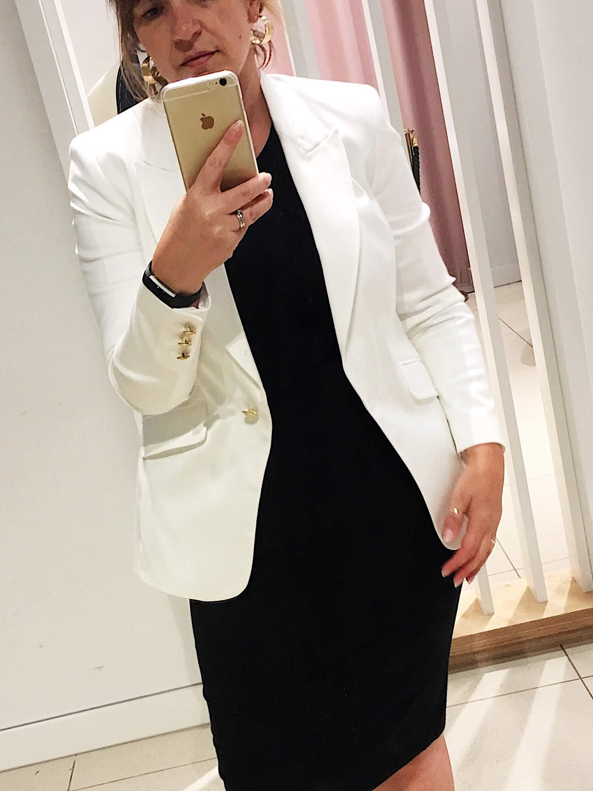 white blazer marks and spencer