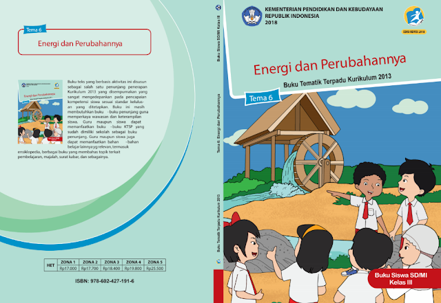 Buku K13 SD Semester 2 Revisi 2018