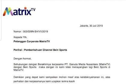 TSB Channel Trans tv Trans 7 dan Antv hilang di Matrix Garuda