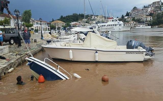Θεσπρωτία: Παραλία Συβότων - Σαν να πέρασε τυφώνας (+ΦΩΤΟ)