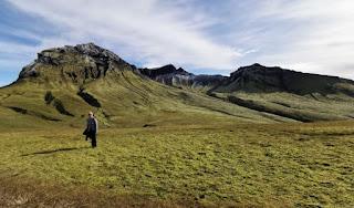 Kristínartindar (1125m). Parque Nacional Skaftafell