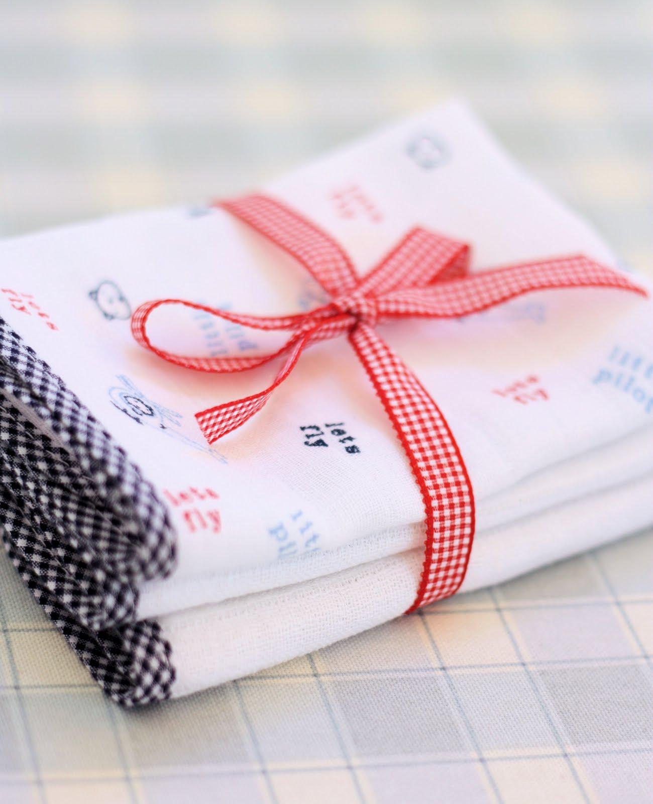 Wash Cloths As Burp Cloths: A Spoonful Of Sugar