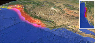 URGENTE: sismo Fuerte sobre la falla de la cascadia.