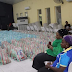 COVID-19: RCCG parish throws out chairs, puts food packs in place for the needy
