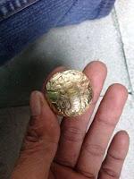Koin Emas Anti Cukur Kerajaan Kutai Kartanegara