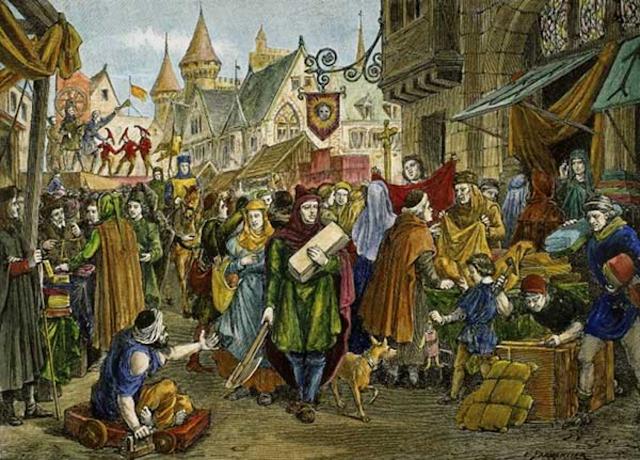 Sinh hoạt ở các thành thị cổ thời kỳ Phục Hưng