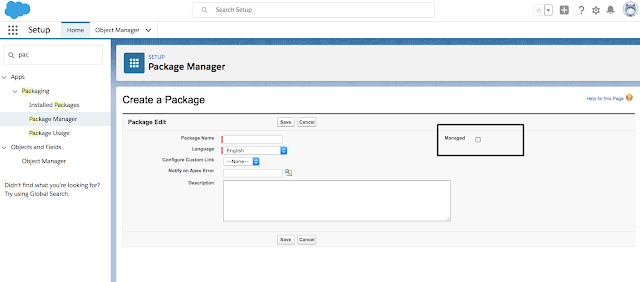 Step by step process to create managed package in salesforce