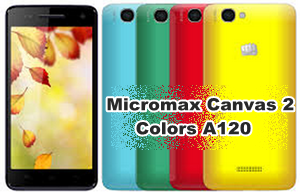Buy Micromax Canvas 2 Colors A120 online India Cheap Price