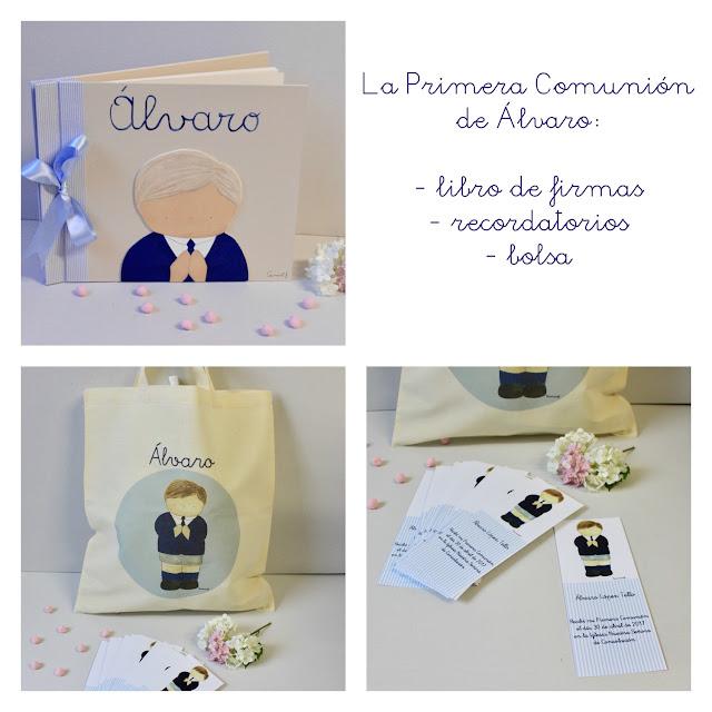 PRIMERA COMUNION : álbumes de fotos , libros de firmas personalizados