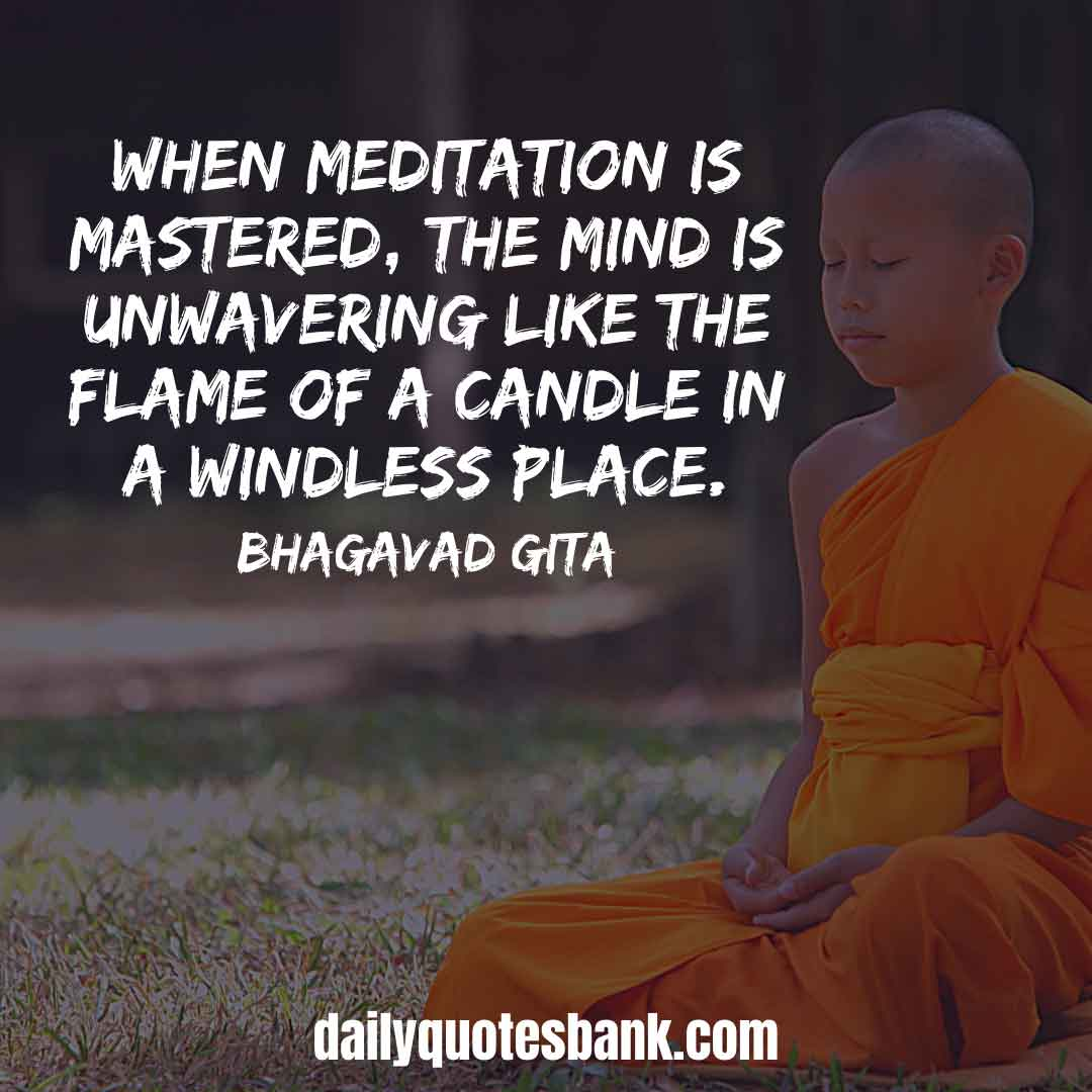 Inspirational Yoga Meditation Quotes For Calm Mindfulness