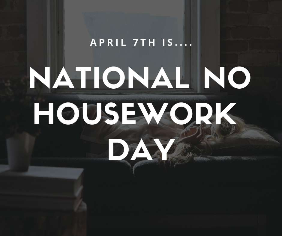 National No Housework Day Wishes Awesome Picture