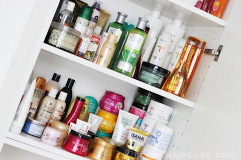 Włosowa szafa, czyli jak przechowuję kosmetyki i akcesoria do włosów - czytaj dalej »
