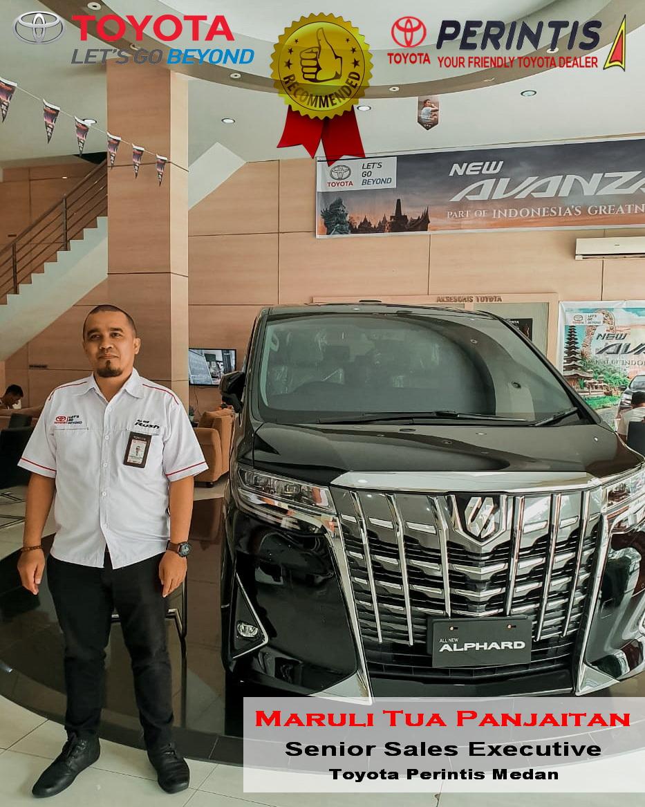 Maruli Sales Toyota Perinstis Medan