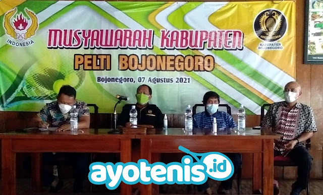 Budi Djatmiko Terpilih Secara Aklamasi jadi Ketua PELTI Bojonegoro Masa Bakti 2021-2026