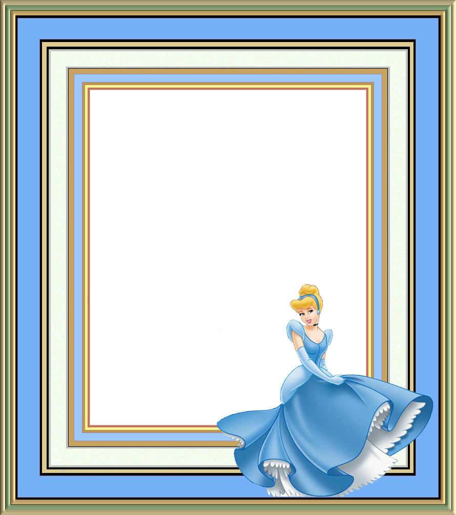 Colecci n de gifs marcos para fotos de princesita - Marco fotos pared ...