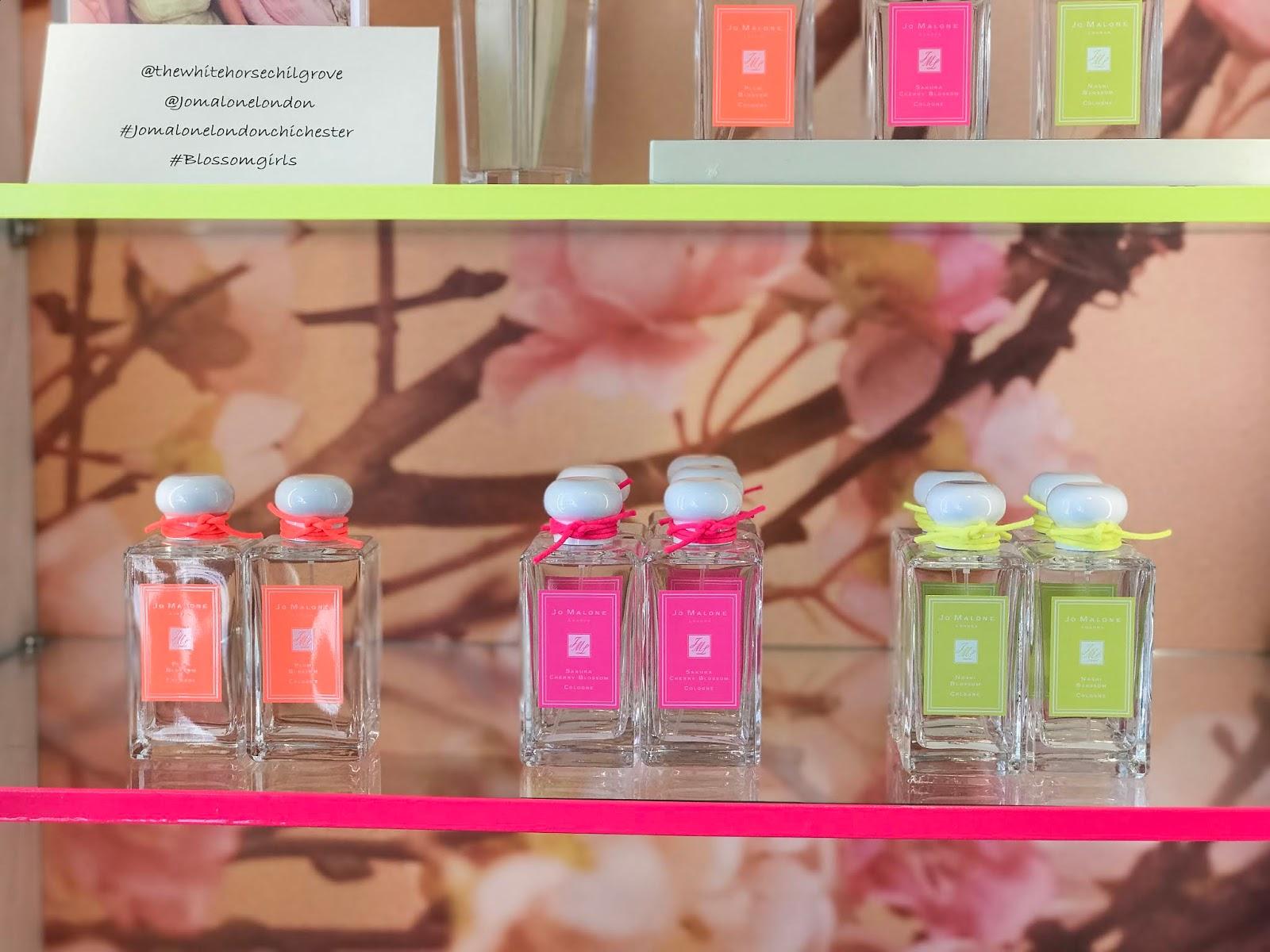 Jo Malone Spring Blossom Fragrances