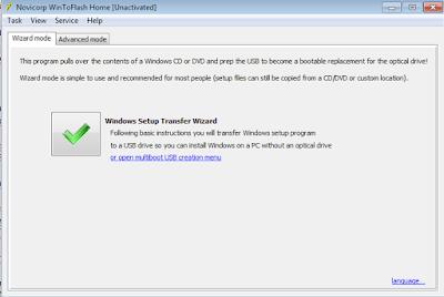Install Komputer Windows XP WintoFlash