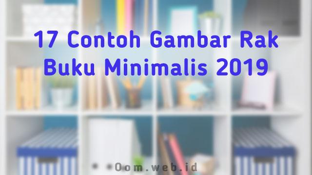17 Contoh Gambar Rak Buku Minimalis 2019