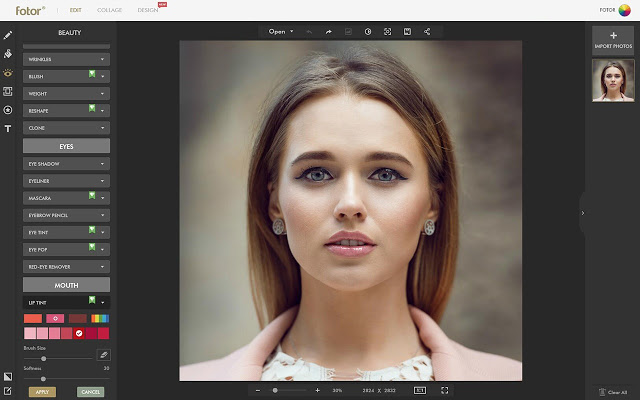 fotor online photo editor