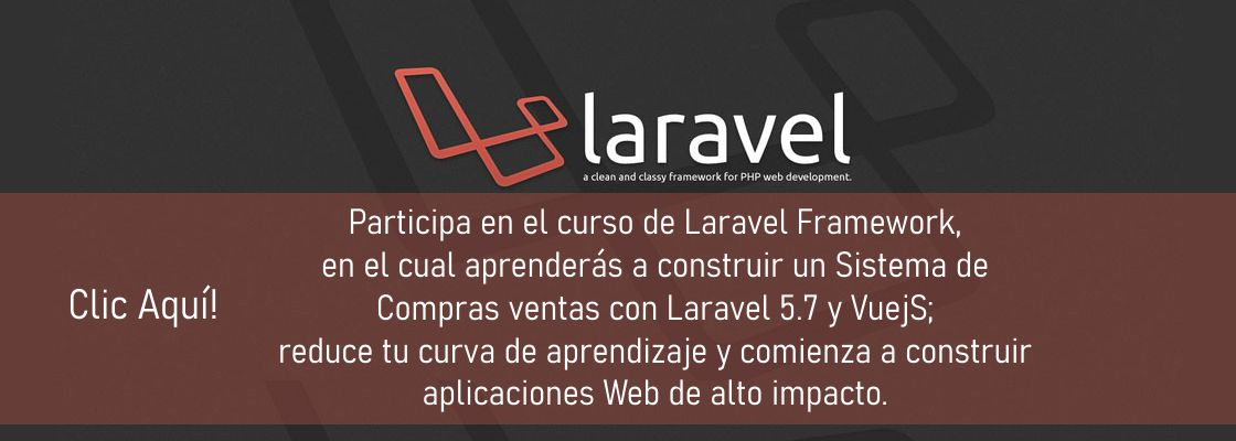 Método post en Laravel