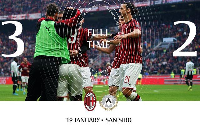 AC Milan Vs Udinese - FBACMILAN