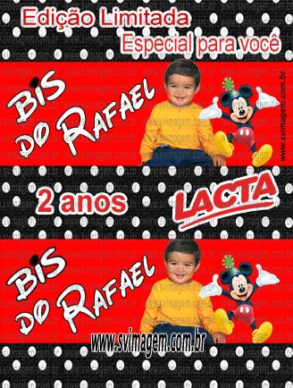 #svimagem #infantil #chocolate #bis #personalizado