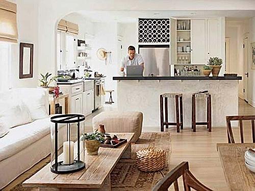 Cozinha e sala conjugada ideias de decora o reciclar e for Divisiones para sala y cocina