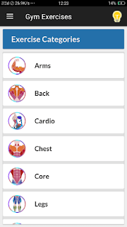 Gym Exercises & Workouts - screenshot 3