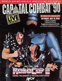WCW Capital Combat 1990 - Event Poster