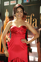 Reetu Varma smiling beauty in Deep Neck Red Gown at IIFA Utsavam Awards 2017  Day 2  Exclusive 23.JPG