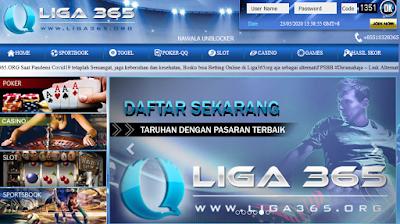 Liga365 Merupakan Website Judi Bola Terbaik! Jadi, Pakailah Untuk Bertaruh