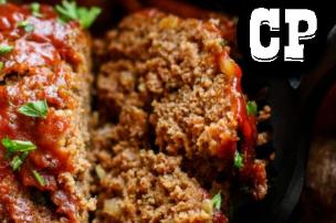 Easy Crockpot Meatloaf Dinner