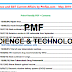 PMF Science & Technology Quick pdf Notes for Civil Services Exams