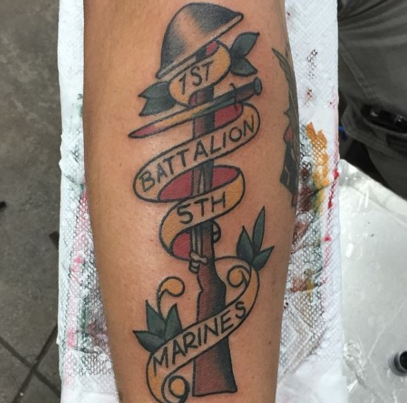Marine corps tattoos for girls images for United states tattoo