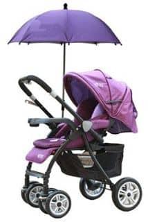 gunakan payung anti uv untuk membuat stroller sejuk dan nyaman untuk bayi