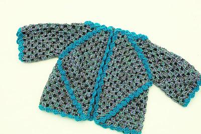5 - Crochet IMAGEN Chaqueta de exagonos a crochet y ganchillo. MAJOVEL CROCHET