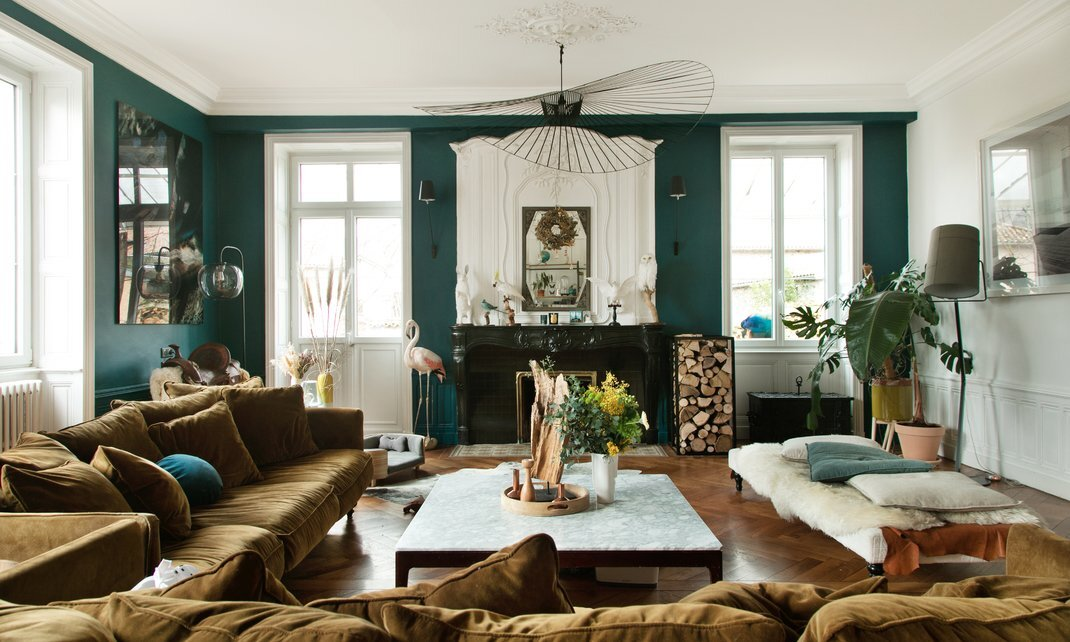 A beautiful 17th-Century house in the French countryside