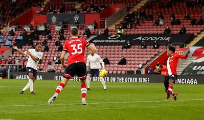 ملخص وهدف فوز مانشستر سيتي علي ساوثهامبتون (1-0) الدوري الانجليزي