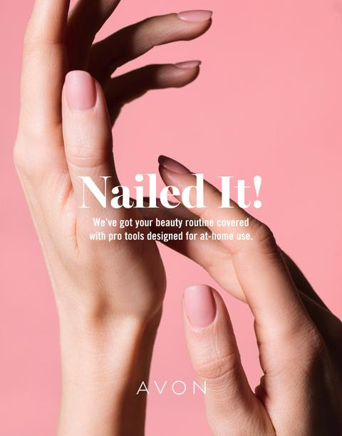 Nail It! AVON Flyer Campaign 22 2020