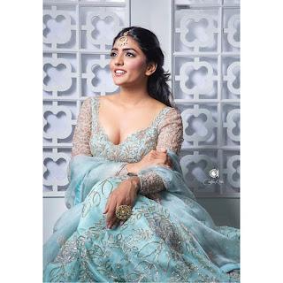 Eesha Rebba latest ghagra choli photoshoot Navel Queens